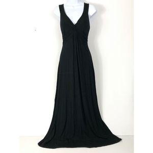 BODEN Black Empire Waist Maxi Dress US 10 UK 14